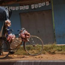 "Just about anything will be loaded on a bike or motorcycle - ""boda-boda"""