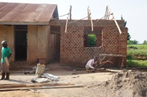 Gov't school office - we are just putting the roof on.