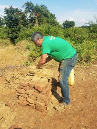 Making bricks!