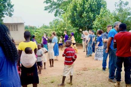 The children loved having visitors!